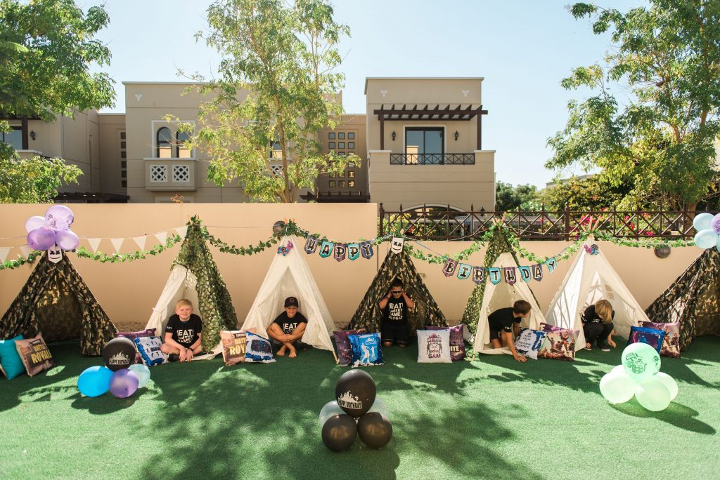 themed outdoor parties dubai