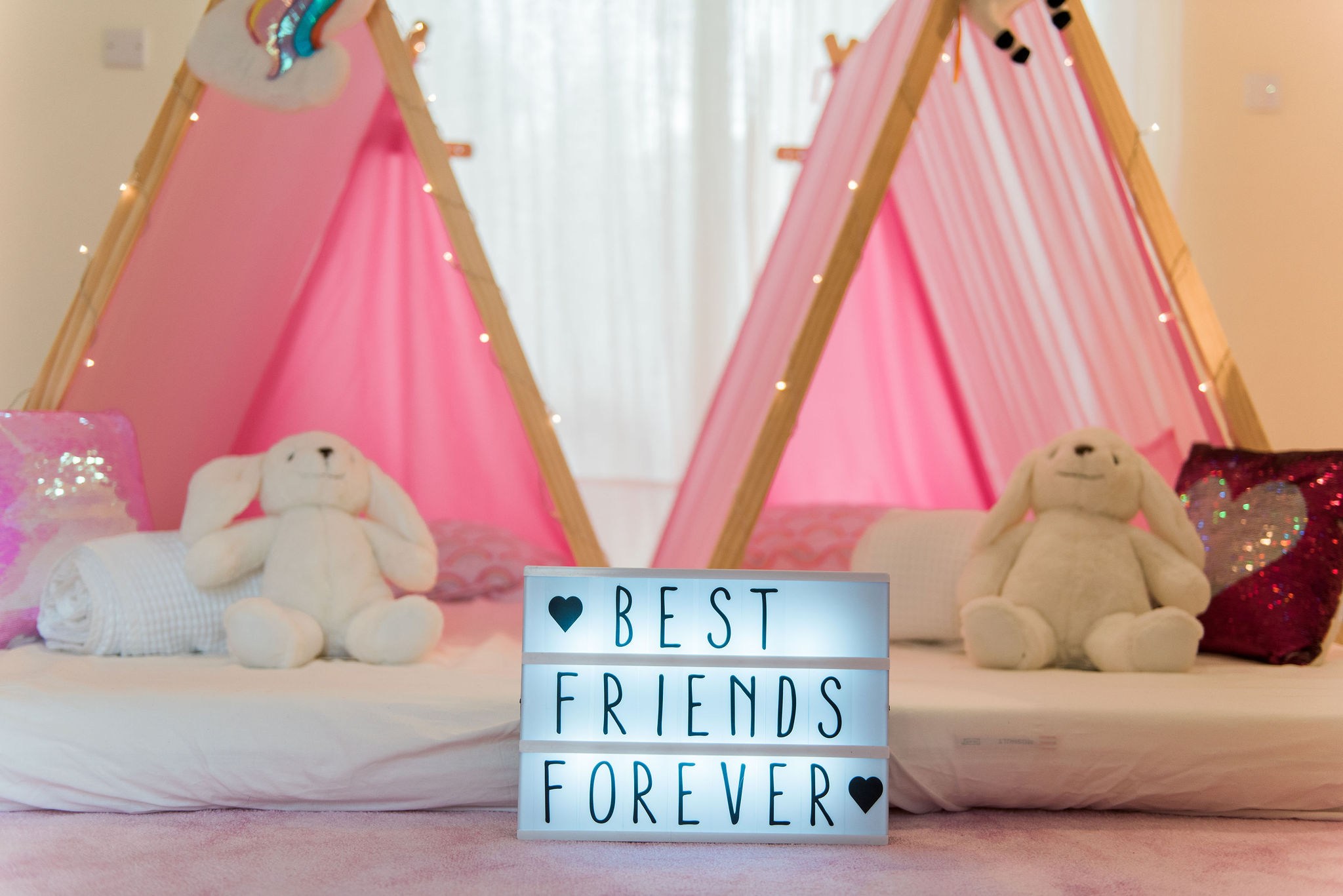 sleepover party rentals dubai heartmade events
