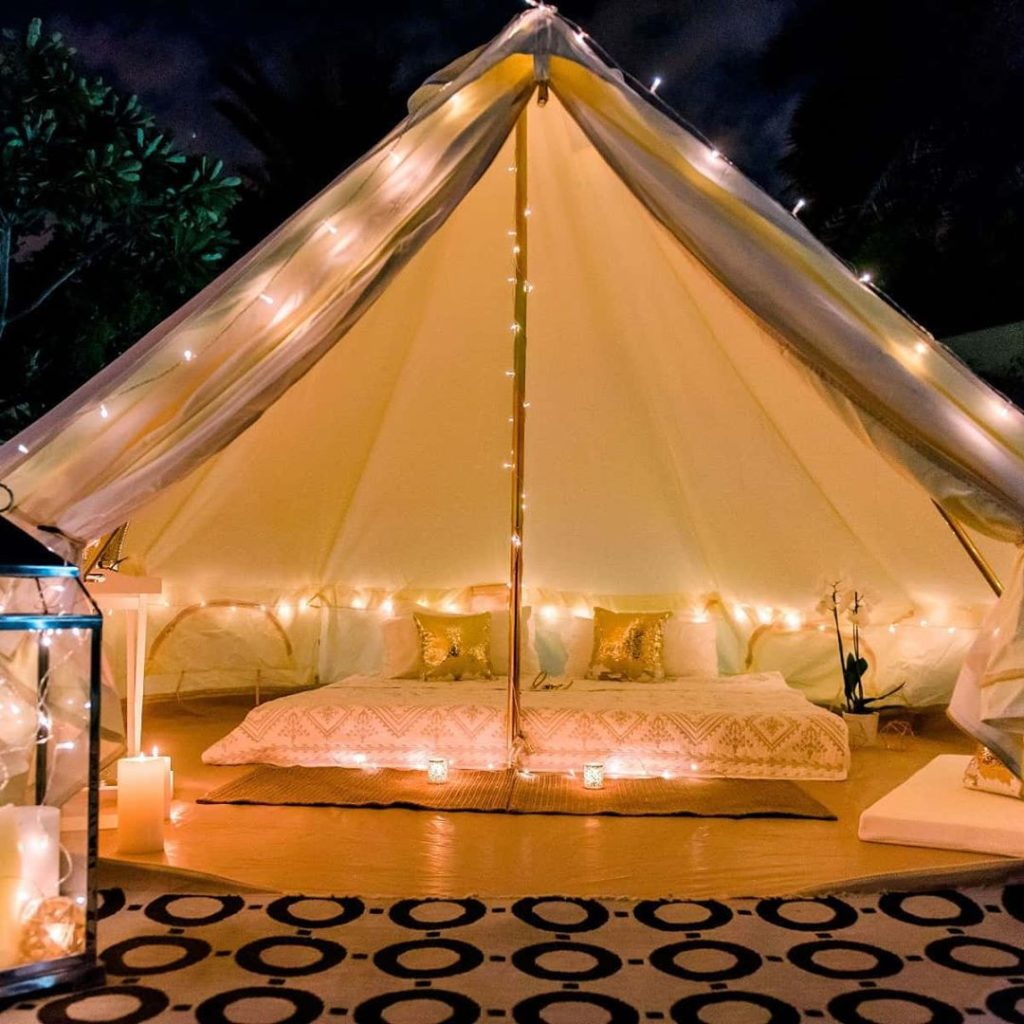 glamping dubai event planners